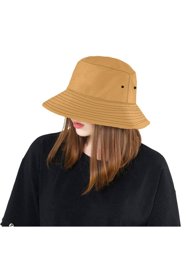 Light Brown Bucket Hat