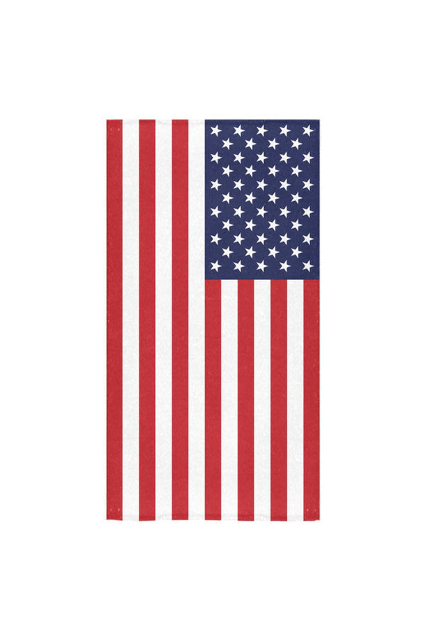 "USA Flag Bath Towel Bath Towel 30""x56"""