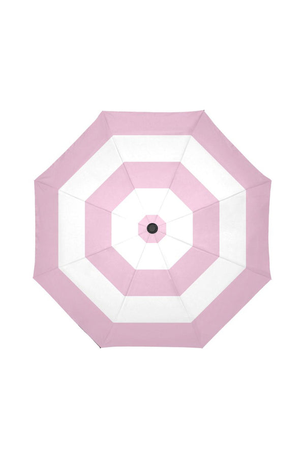 pink stripe umbrella Auto-Foldable Umbrella