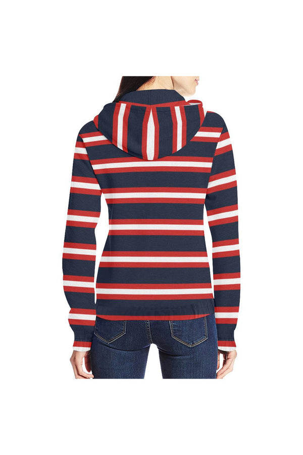 Americana Zip Hoodie for Women