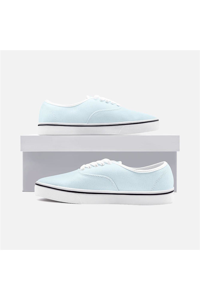Baby Blue Unisex Canvas Sneakers