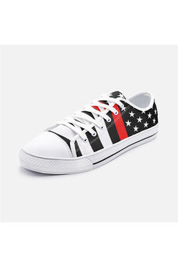 Chaussures basses en toile unisexes Thin Red Line