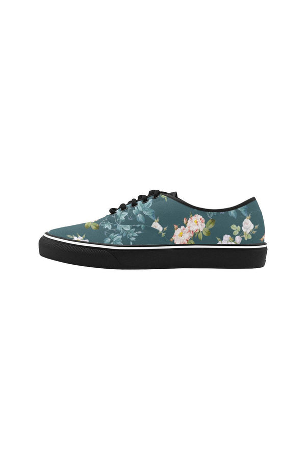 Meadow Magic Classic Women's Canvas Low Top Shoes (Model E001-4)