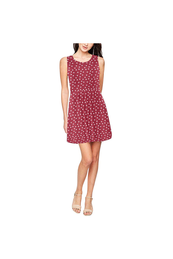 My Funky Valentine Thea Sleeveless Skater Dress