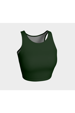 Go Solid Green Athletic Top - Objet D'Art Online Retail Store