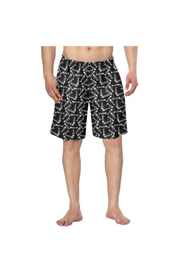 Fishbone Men's Swim Trunk - Objet D'Art Online Retail Store