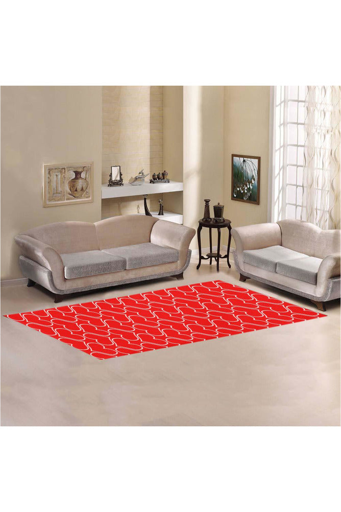 Runway of Hearts Area Rug 10'x3'3''