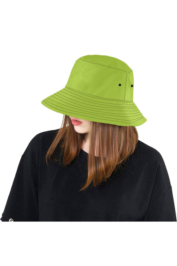 Bright Green Bucket Hat