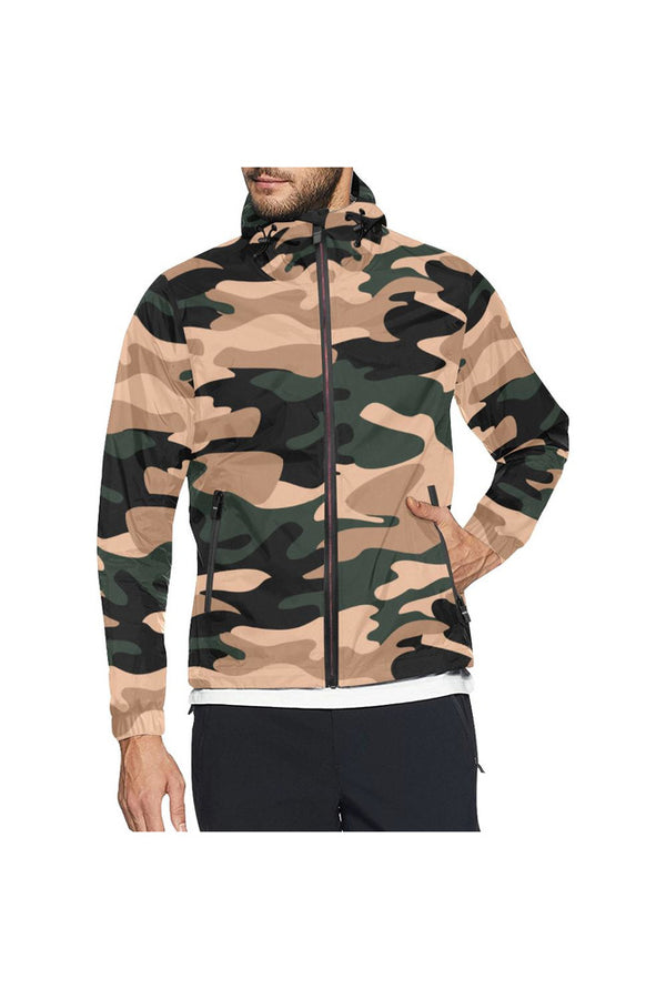 Camouflage Unisex All Over Print Windbreaker