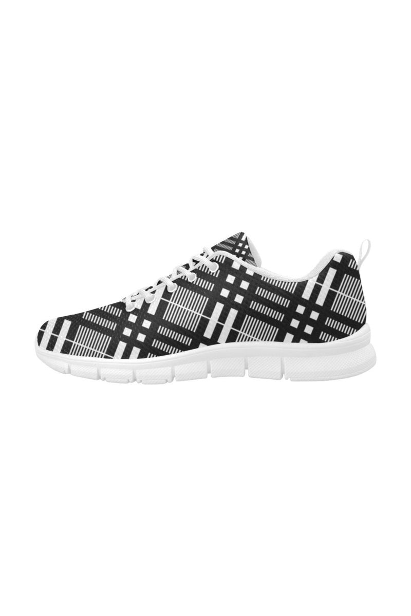 Plaid Passion Women's Breathable Running Shoes