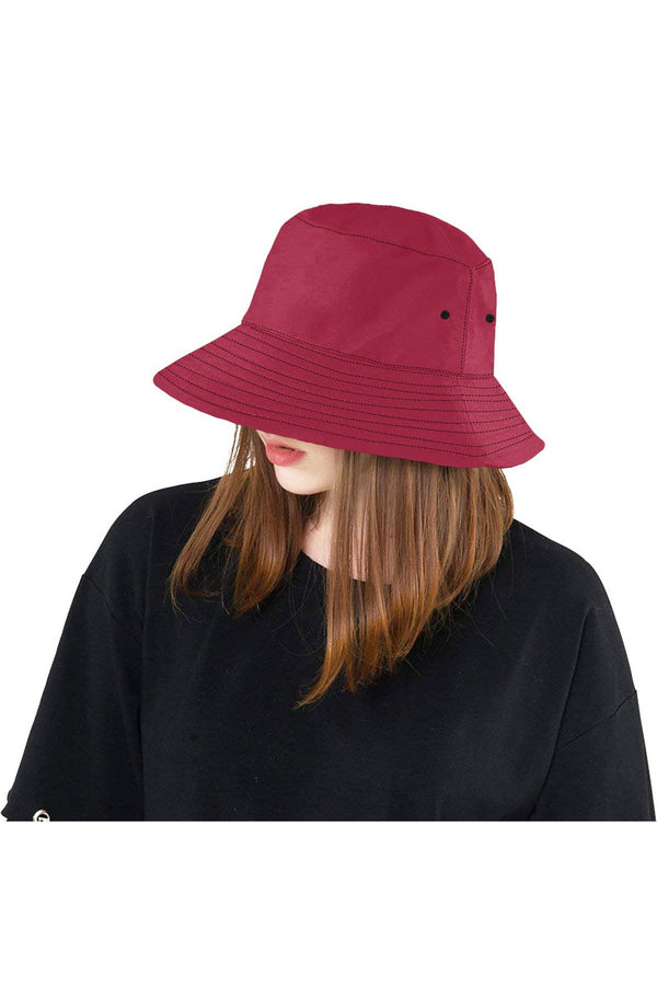 Jester Red  Bucket Hat