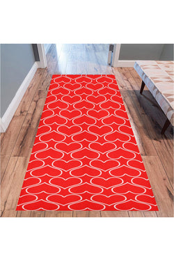 Tapis Runway of Hearts 10'x3'3 ''