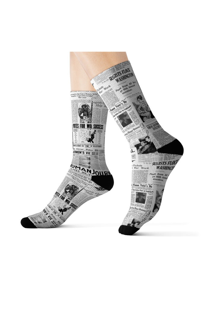 Women Suffrage Sublimation Socks