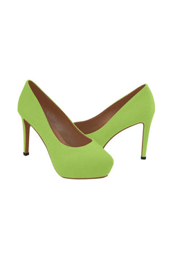 Lime Green Women's High Heels