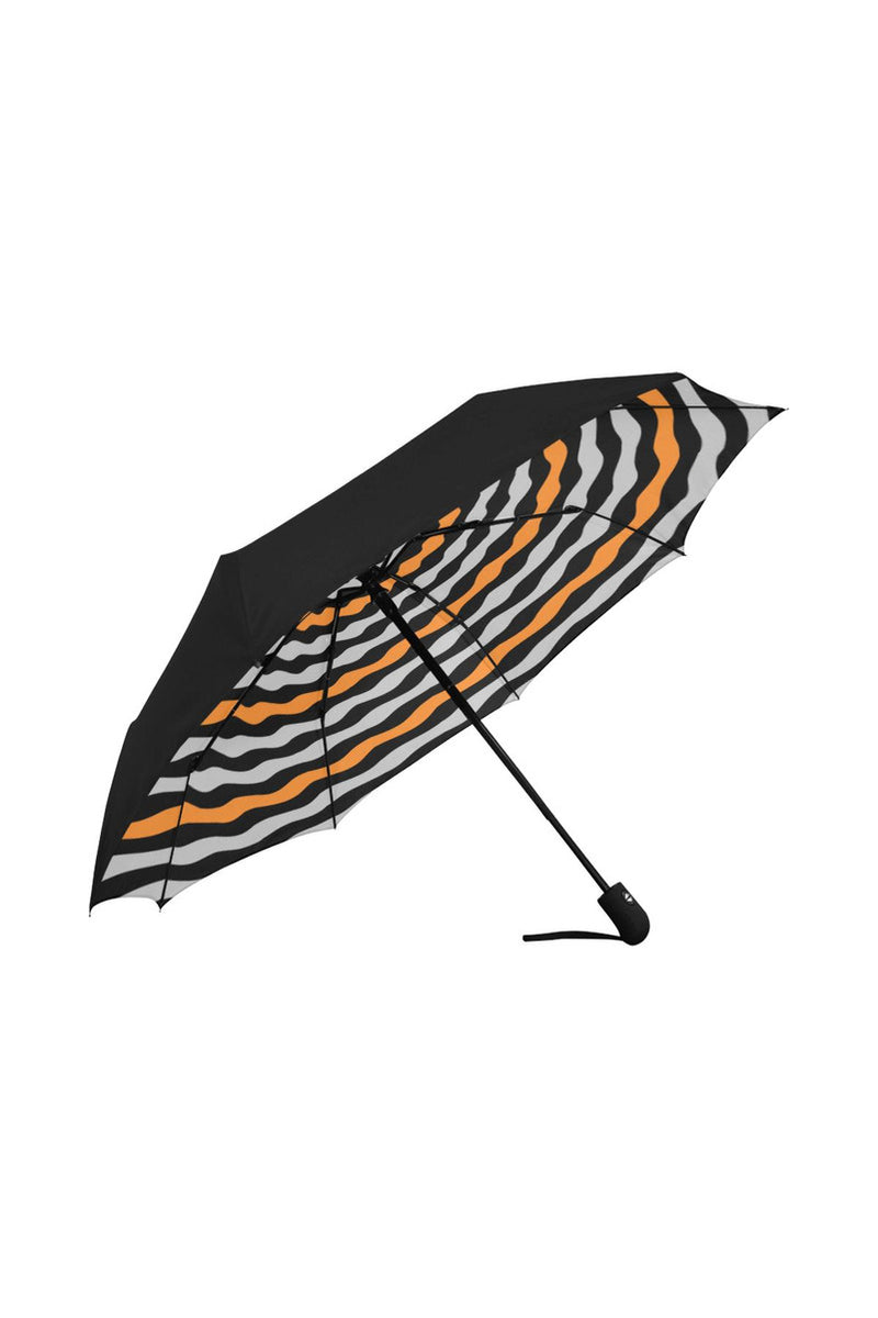 TWIRLING HYPNOSIS Anti-UV Auto-Foldable Umbrella (Underside Printing) - Objet D'Art Online Retail Store