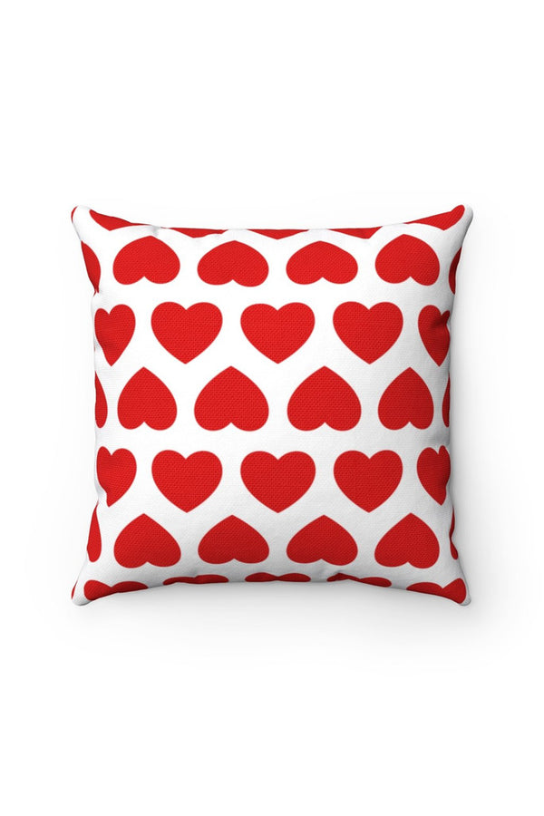 Sweetheart Valentines Spun Polyester Square Pillow