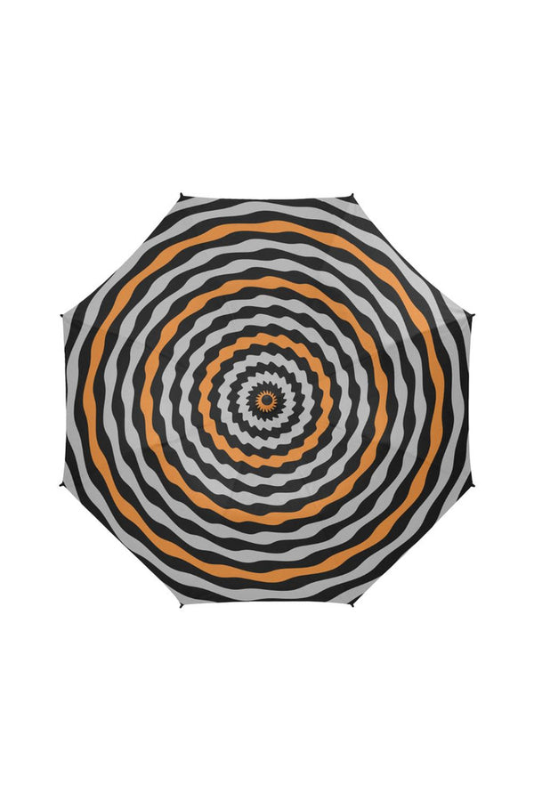 TWIRLING HYPNOSIS Semi-Automatic Foldable Umbrella - Objet D'Art Online Retail Store