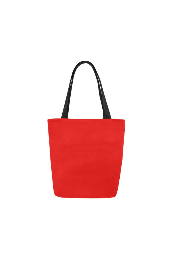 Cranberry Canvas Tote Bag