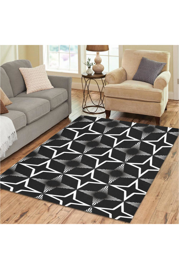 Spatial Abstraction Area Rug7'x5'