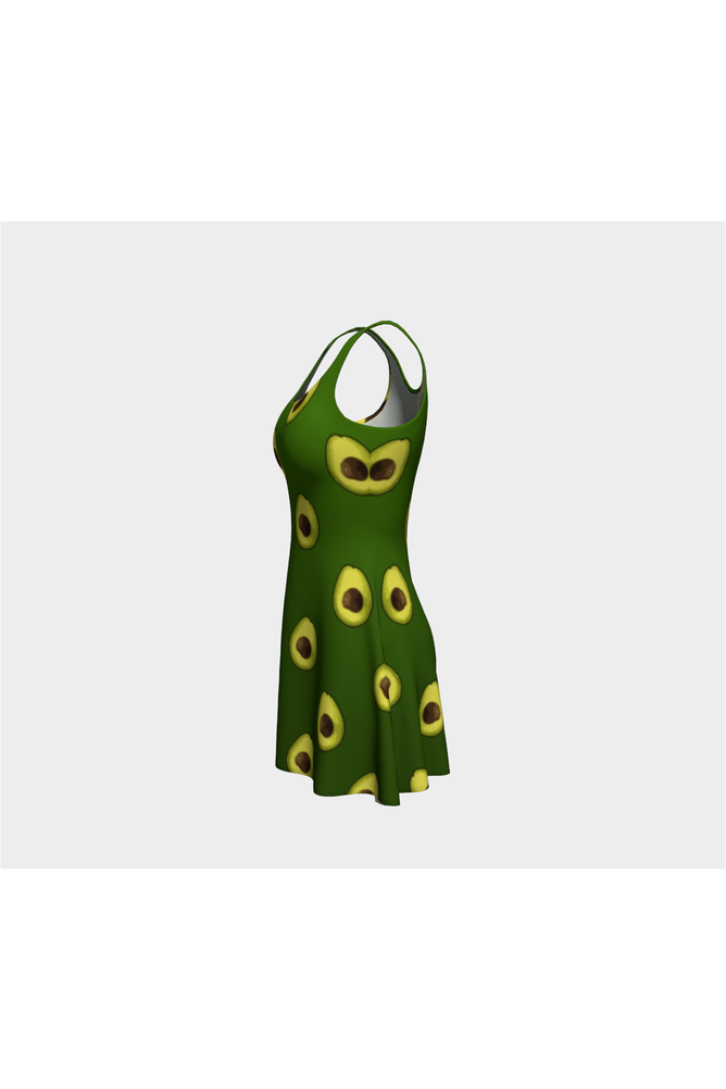 Avocado Angel Flare Dress - Objet D'Art Online Retail Store