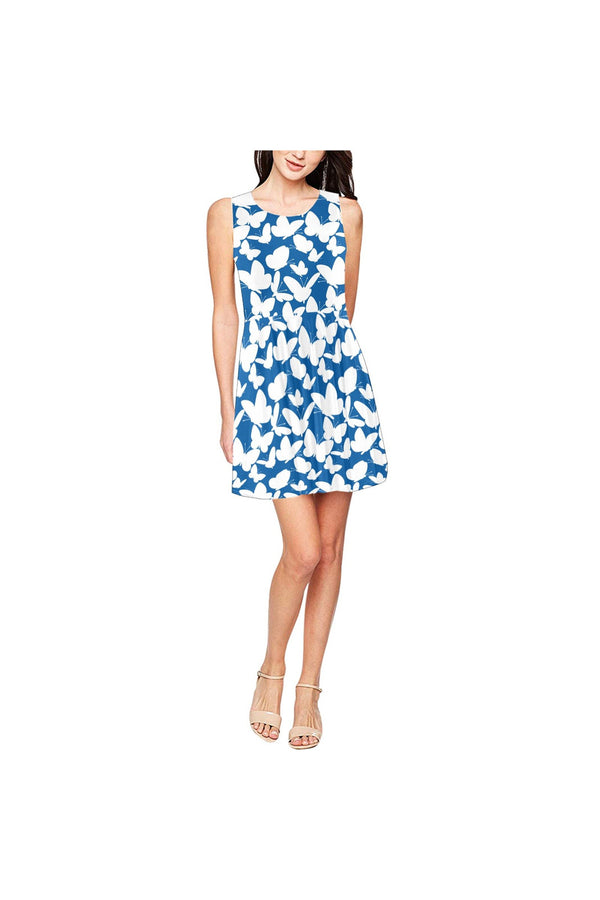 kaleidoscope of butterflies Thea Sleeveless Skater Dress