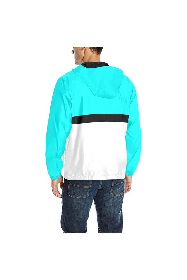 KLIPSPRINGER BLUE  Windbreaker for Men (Model H35)
