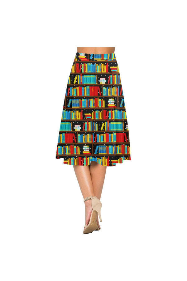 Night Sky Library Aoede Crepe Skirt