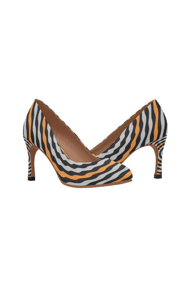 Orange Blossoms Women's High Heels - Objet D'Art Online Retail Store