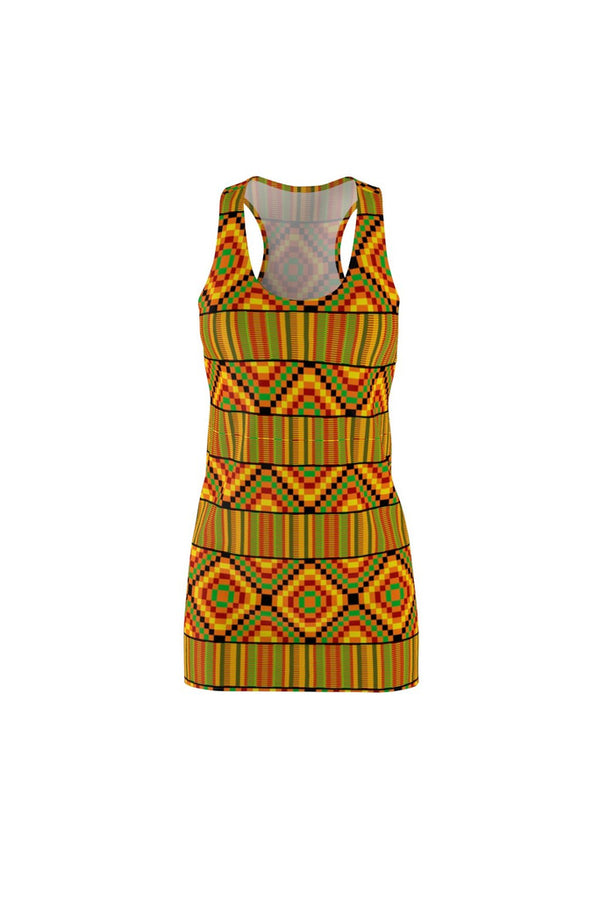 Kente Kutie Women's Racerback Dress