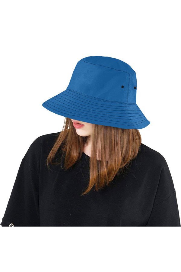 Princess Blue All Over Print Bucket Hat