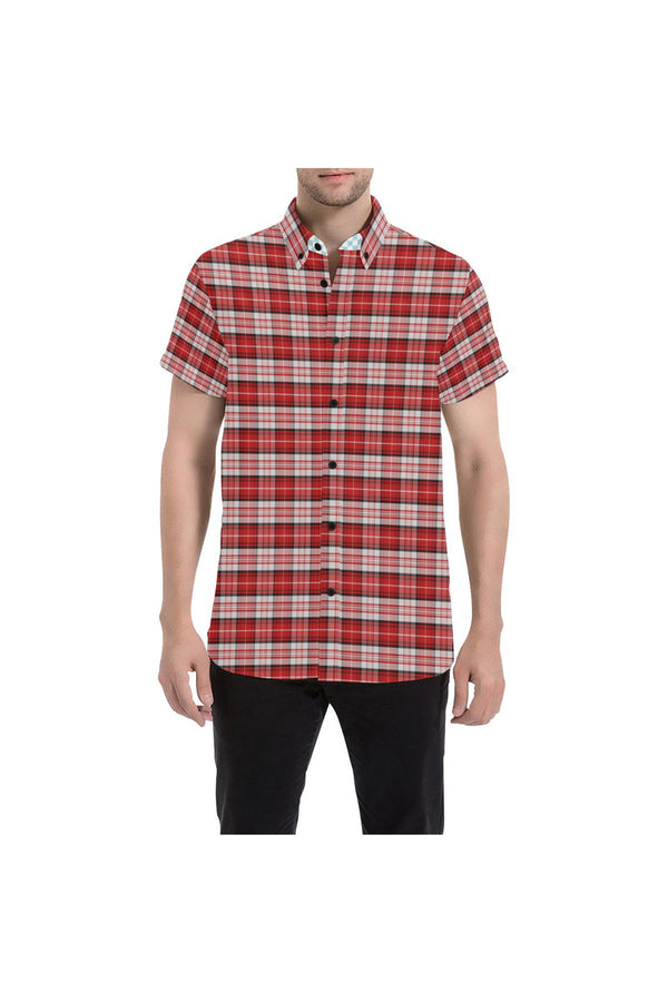 CLR - IN - TARTAN Men's All Over Print Short Sleeve Shirt (Model T53)