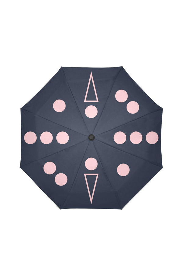 Meteorology Umbrella Auto-Foldable Umbrella
