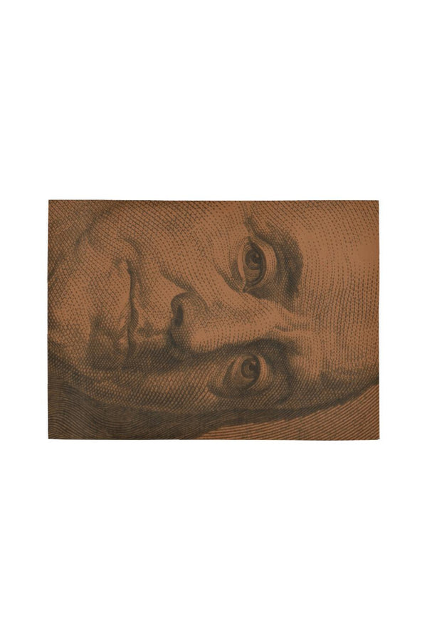 Benjamin Franklin 100 Bill Area Rug7'x5'