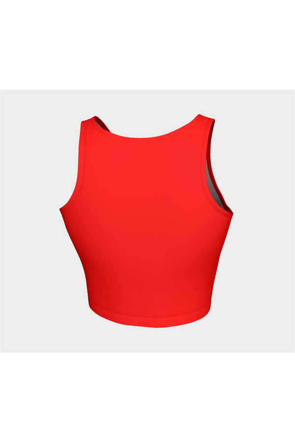 Cherry Red Athletic Top - Objet D'Art Online Retail Store