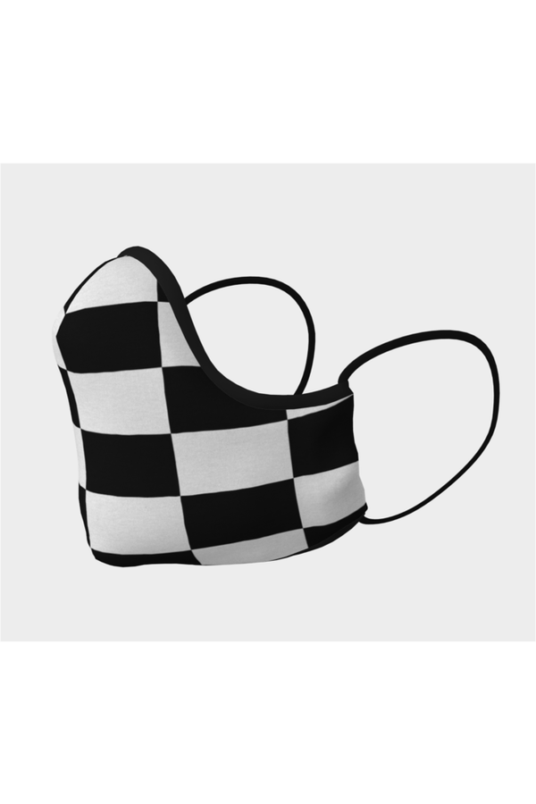 Checkered Flag Face Mask