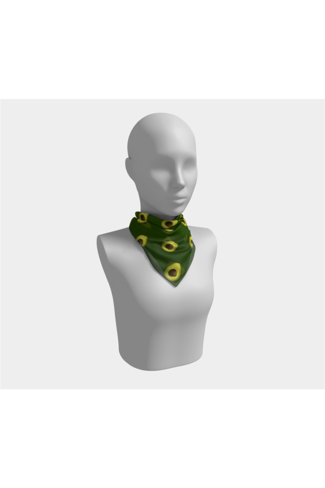 Avocado Angel Square Scarf - Objet D'Art Online Retail Store