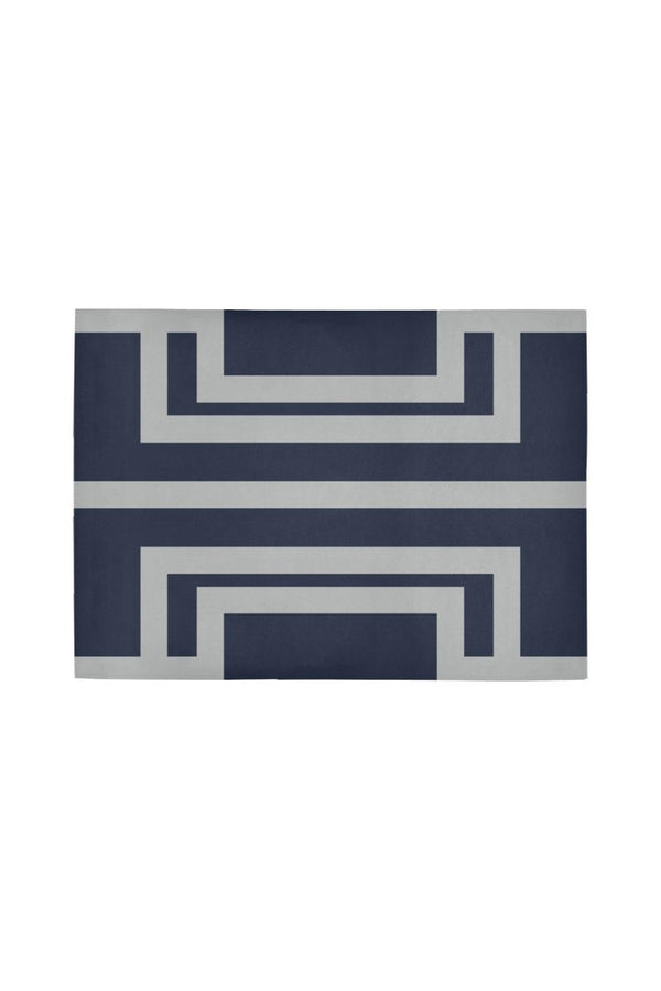 Greek Steel Area Rug7'x5'