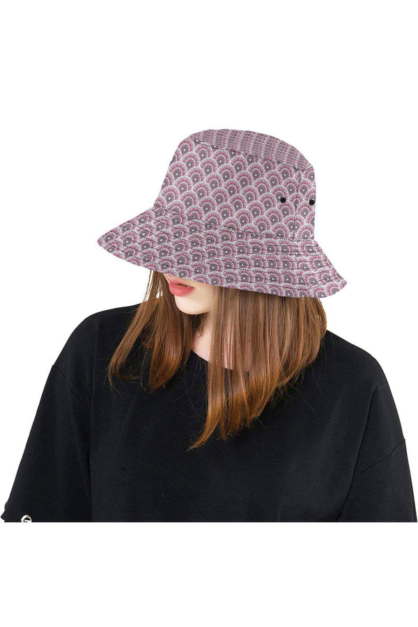Mandala Scales Bucket Hat