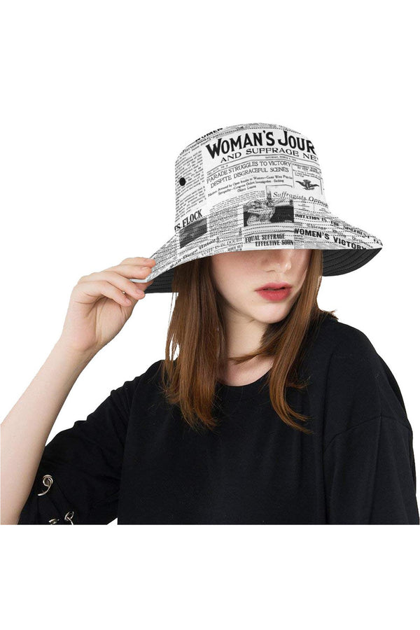 suffrage sides All Over Print Bucket Hat