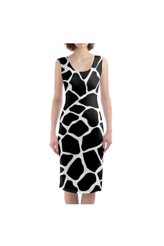 Giraffe Print Bodycon Dress