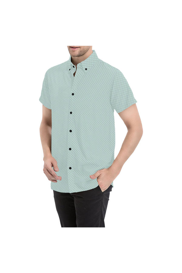 Fashion Print Men's All Over Print Short Sleeve Shirt - Objet D'Art Online Retail Store
