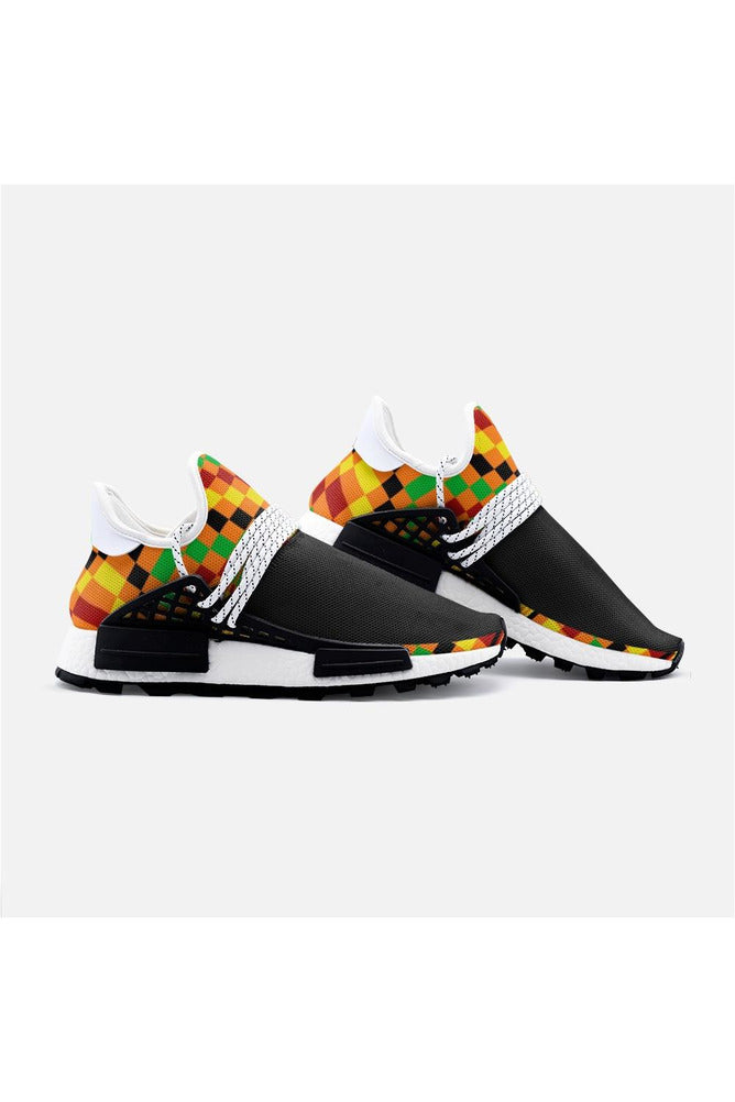 Kente Cloth Unisex Lightweight Sneaker S-1