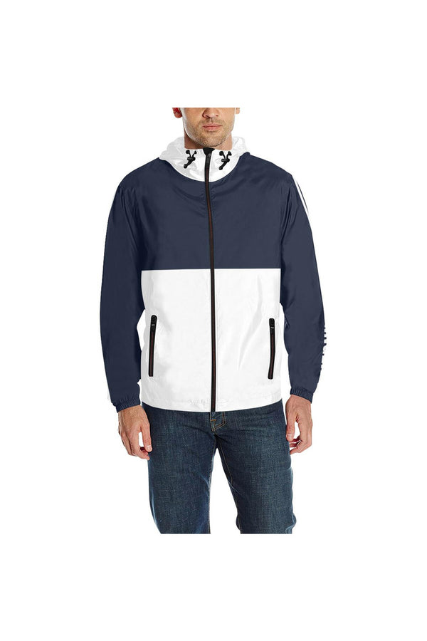 KLIPSPRINGER BLUE & WHITE Quilted Windbreaker for Men