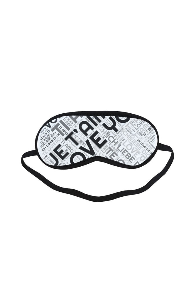 I LOVE YOU Sleeping Mask - Objet D'Art Online Retail Store