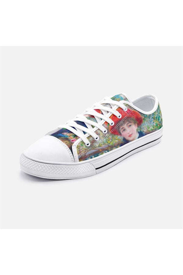 The Sisters by Renoir Unisex Low Top Canvas Shoes
