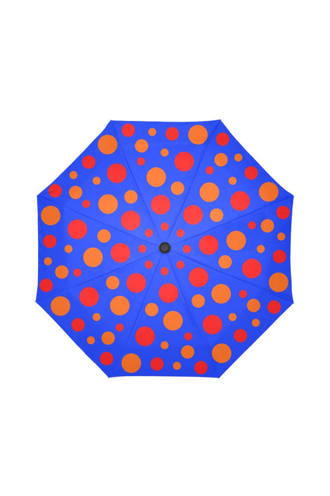 Playful Polka-dots Auto-Foldable Umbrella (Model U04)