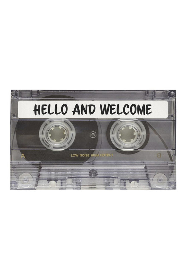 "Hello & Welcome Azalea Doormat 30"" x 18"""