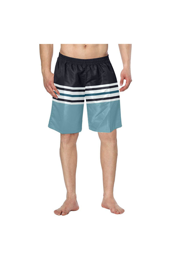 Modern Movements Men's Swim Trunk/Large Size - Objet D'Art Online Retail Store
