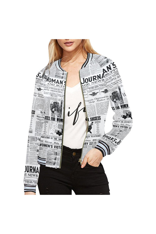 Women's Suffrage Bomber Jacket for Women