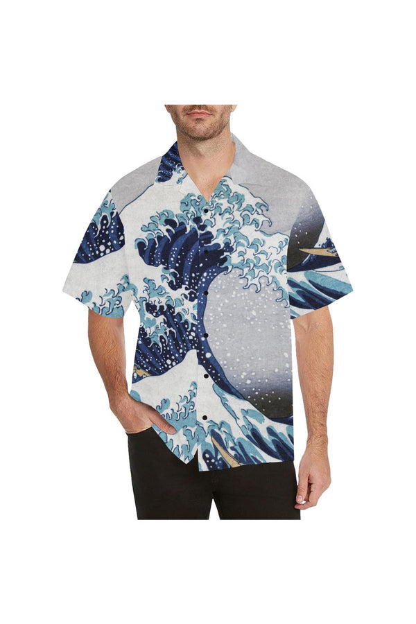 The Great Wave off Kanagawa Hawaiian Shirt